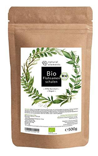 natural elements -  Bio Flohsamenschalen
