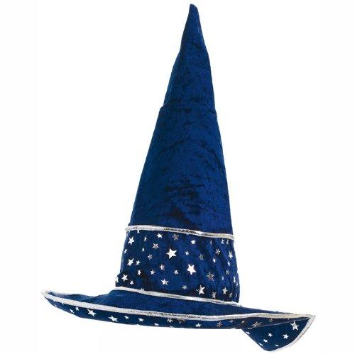 PARTY DISCOUNT ® Hut Zauberer Sterne, blau
