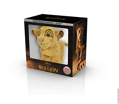 Le Roi Lion film live action 4K + peluche [Blu-ray] [4K Ultra HD + Blu-ray + Peluche]