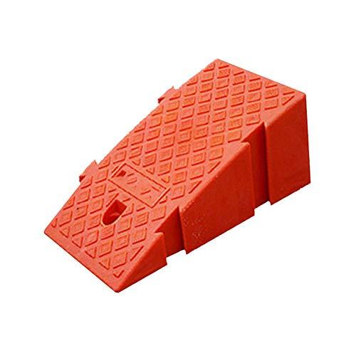 Bordsteinkanten-Rampe Kunststoff tragbar Türschwellenrampe mit strukturierter Oberfläche für 18-22 cm Höhenschritte