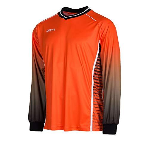 Reece Luke Hockey Torwart Trikot orange-schwarz Kinder shocking orange-schwarz, 140/152
