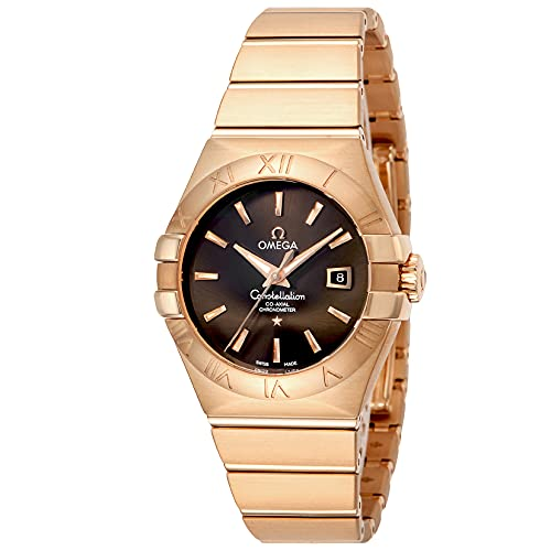 腕時計 OMEGA(オメガ) 123.50.31.20.13.001 ブラウン文字盤 レディース [並行輸入品]