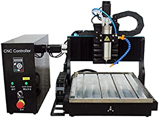 JFT 3030 1500w cnc router engraving machine Lpt port with water tank for metal plastic wood eva engraving (with rotary axis)