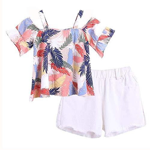 BOBORA Ensemble Filles, Vêtements Fille Enfants T-Shirt à...