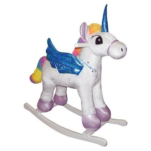 Check Out This Charm Company Rainbow Pegacorn Rocker