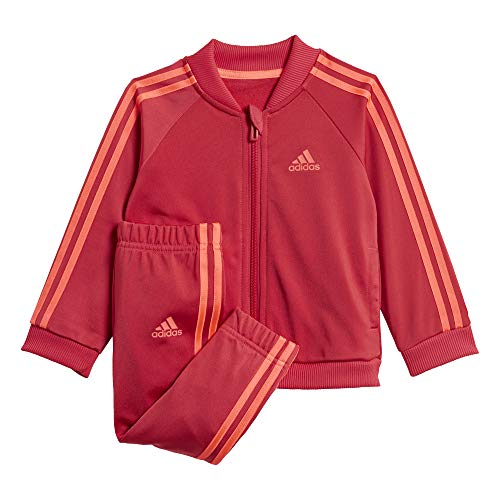 adidas Kinder I 3S TS TRIC Tracksuit, Power pink/Power pink/Signal pink, 912M