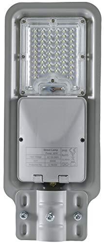 LED Aluminium Slim HighBay Basic Strassenleuchte IP65 60W 6000lm - kaltweiß (6500K)