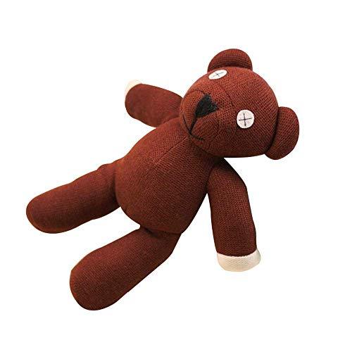 "1 Piece 9"" Mr Bean Teddy Bear Animal Stuffed Plush Toy Brown Figure Doll Child Toys"