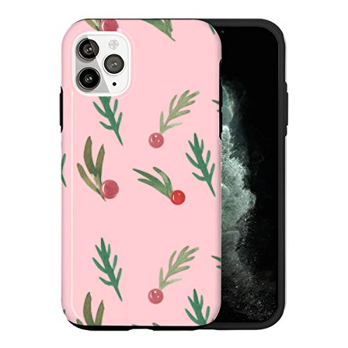 Sconosciuto iPhone 12 Custodia, Christmas Decoration LS023_4 Custodia per iPhone 12 Protettiva, Gorgeous Phone Cover, Popular Trendy [Guscio Resistente in Plastica Dura]
