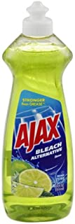 Ajax Dish Liquid Bleach Alternative Lime, 14 FZ (Pack of 20)