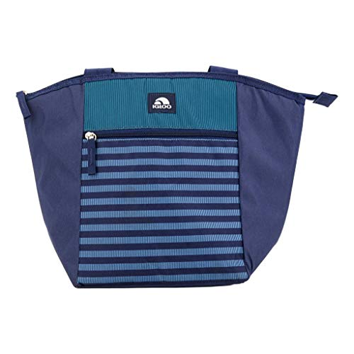 Essentials Shopper Cooler Tote, Insulated Grocery Bag, Holds 16 Cans, Leak Resistant (Blue)