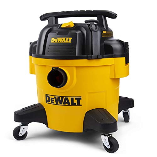 DeWALT DXV06P 6 gallon Poly Wet/Dry Vac, Yellow (Renewed)