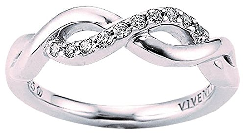 Viventy Damen-Ringe 925_Sterling_Silber zirkonia '- Ringgröße 56 (17.8) 777771/56