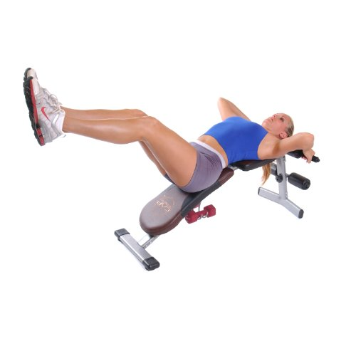 Product Image 5: CAP Barbell Flat/Incline/Decline Bench, Brown