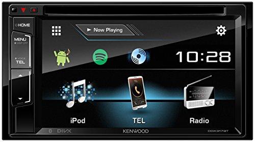 Kenwood DDX-317BT Sintolettore DVD/USB 2DIN, Nero
