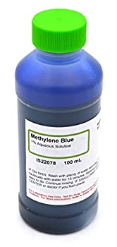 1% Aqueous Methylene Blue 100mL - The Curated Chemical Collection