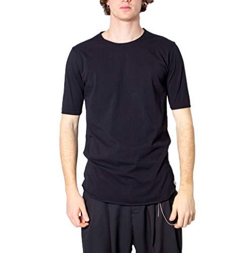 Imperial T-Shirt Uomo Taglio Vivo t084zbtl l Nero