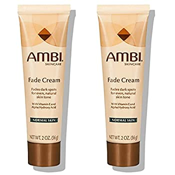 Ambi Skincare Fade Cream for Normal Skin | Dark Spot Remover for Face and Body | Treats Skin Blemishes & Discoloration | Pack of 2