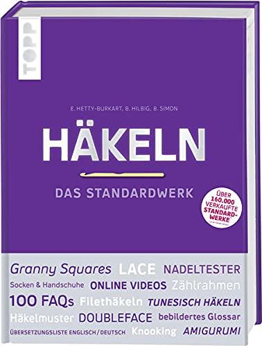 Häkeln - Das Standardwerk: Mit vielen aktuellen Trend- und Spezialtechniken|Standardwerk: Mit vielen aktuellen Trend- und Spezialtechniken. Über 1.500 ... Nadeltester, Garnspulen und Maschenmarkierer