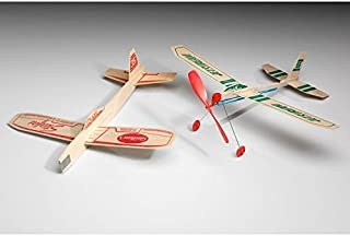 Guillow Squadron of Twelve Classic Balsa Wood Airplane Kits GRP-0126