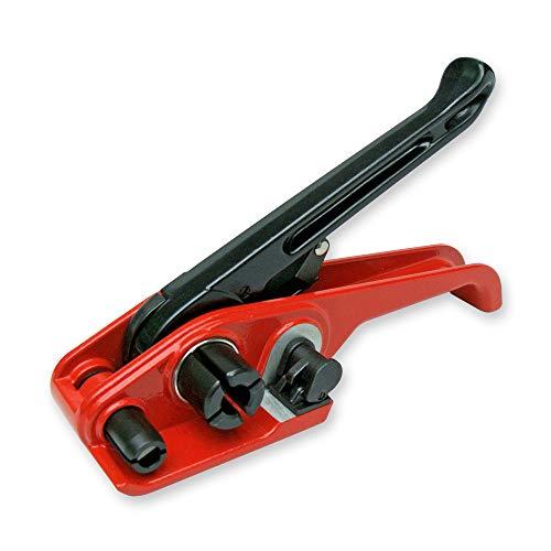 Bandspanner für Umreifungsband 9 12 13 16 und 19 mm, Umreifungsgerät, Spanngerät