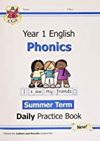 New KS1 Phonics Daily Practice Book: Year 1 - Summer Term