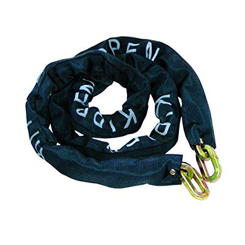 kippen 2009C1 Cadena antirrobo de acero cementado, Negro, 10X1500 MM