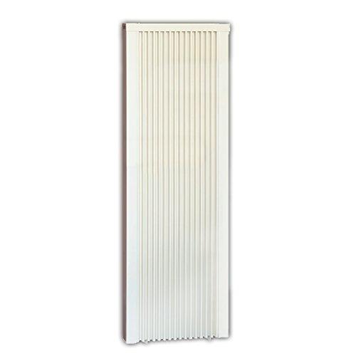 Elektroheizung - Radiator - Hochbaureihe 122cm - 2000 Watt - im Set - inkl. Wandmontageset und Schukostecker - Ohne Thermostat - mit Schamottespeicherkern - Maße: (LxHxT) 680x1220x80 - LAGERWARE