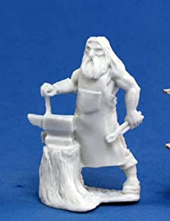 Reaper Miniatures 77142 Bones - Townsfolk Blacksmith