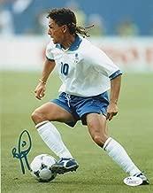 Italy Roberto Baggio Autographed Signed Memorabilia 8x10 Photo - JSA Authentic