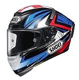 Shoei X-Fourteen Bradley 3 Casque intégral Noir/bleu/rouge Taille M