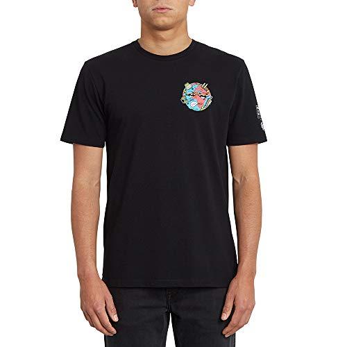 Volcom Freaks City FA Ss Herren-T-Shirt M Schwarz