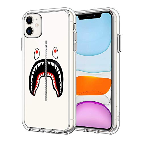 iPhone 11 Case Clear Case Cover iPhone Case (Bape-Shark)