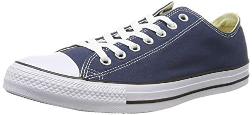 Converse Chuck Taylor All Star Ox, Zapatillas Unisex Adulto, Azul (Navy), 44 EU