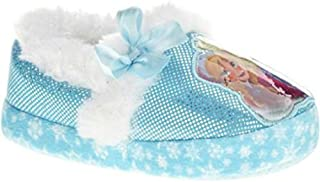 Disney Girl's Anna and Elsa Aline Slippers