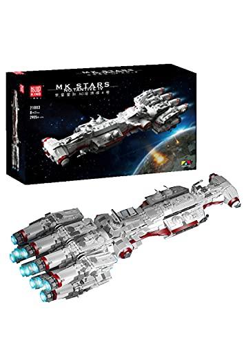 Dr.Bricks Mould King 21003 Starship Modell für TANTIVE IV, UCS Starship Kompatibel mit Lego Star Wars - 2905 Teilen