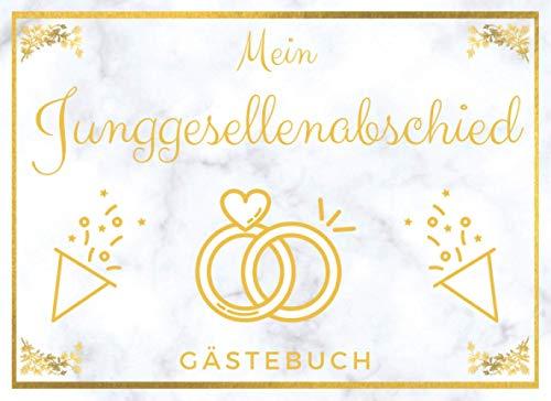Junggesellenabschied Gästebuch: Erinnerungsbuch und Fotoalbum   Ideales Geschenk zum JGA und vor...