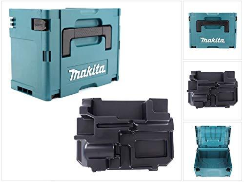 Makita MAKPAC 3 Systemkoffer + Einlage für Makita BPJ/DPJ 180 / PJ 7000