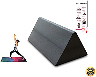 The Workin Yoga Edge Prop for Support, Wedge, Iyengar Yoga, Alignment Block