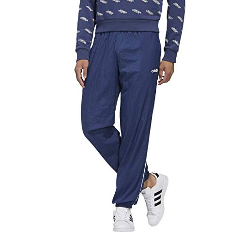adidas M FAV TS TP WV Track Pantalones para Hombre, Hombre, Pantalones de chándal, GVC37, Blanco, Medium
