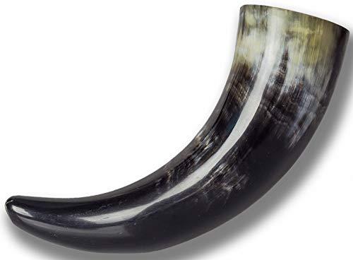 Trollfelsen Trinkhorn Methorn 0,1 l aus echtem Horn für Mittelalter Larp Cosplay 1 Stück