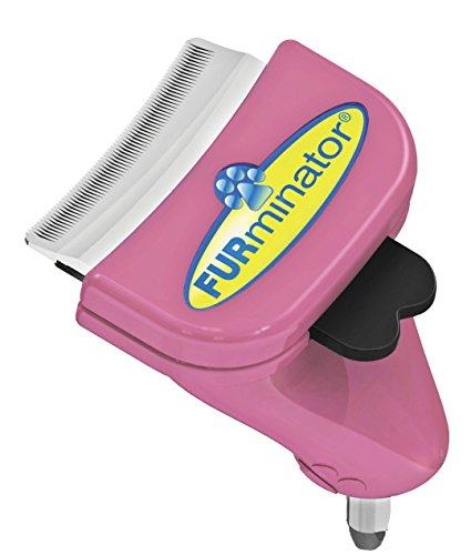 FURminator FURflex, Fellpflegebürste für kleine Katzen, deShedding-Aufsatz zur Entfernung der Unterwolle, Größe S