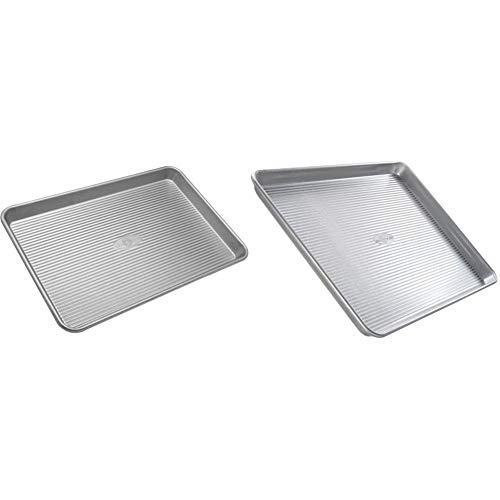 USA Pan Bakeware Half Sheet Pan, Warp Resistant Nonstick Baking Pan  Maryland