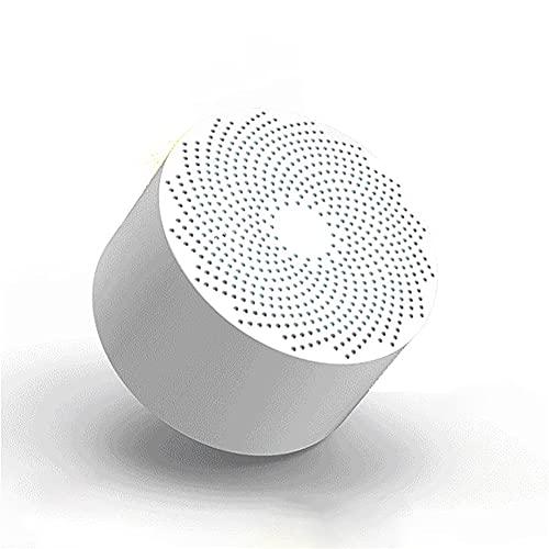 ADFHZB Purificador de Aire Nevera Mini Absorbedor de olores Eliminador Desodorante Ionizador Conservación de Alimentos, Desglose de residuos de pesticidas Carga USB (Color : White)