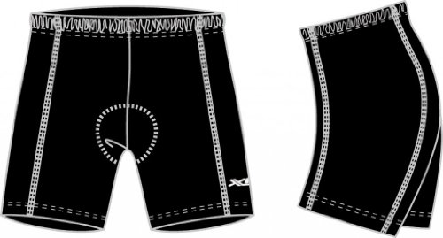 XLC Pantalon de Messieurs 2510104400, Noir, XL