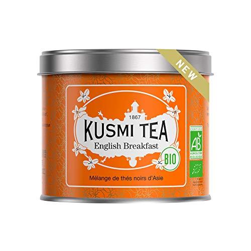 Kusmi Tea - English Breakfast BIO - Asiatische Schwarzteemischung - 100 g Metalldose (etwa 40 Tassen)