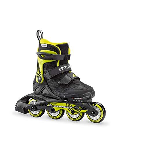 Rollerblade 07848600_ 1A1, Inlineskate Kinder, kinder, 07848600_1A1, Nero Lime, 175 cm (30-32.5)