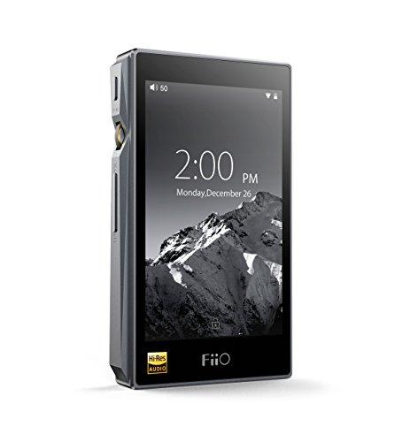 FiiO X5alta resolución de 3ª generación compatible con reproductor de audio portátil (titanio)...