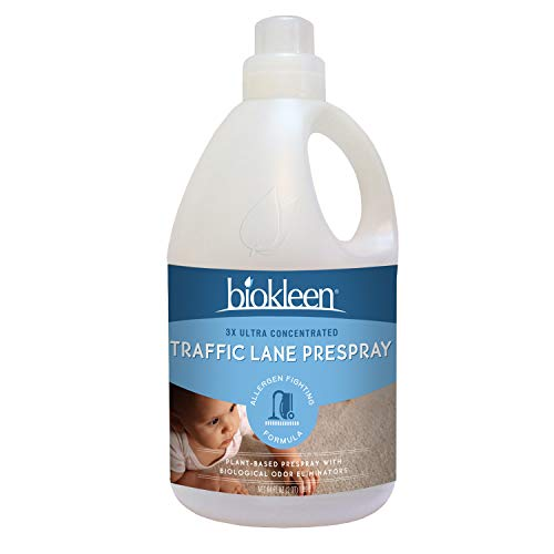 Biokleen 00107 Professional Prespray Traffic Lane Cleaner, Carpet Cleaner, Upholstery, Tile & Grout Cleaner, Best Used with Truck-Mounted or Portable Hot-Water Sprayer, Super Concentrated, 64 Ounces - Makes 16 Gallons