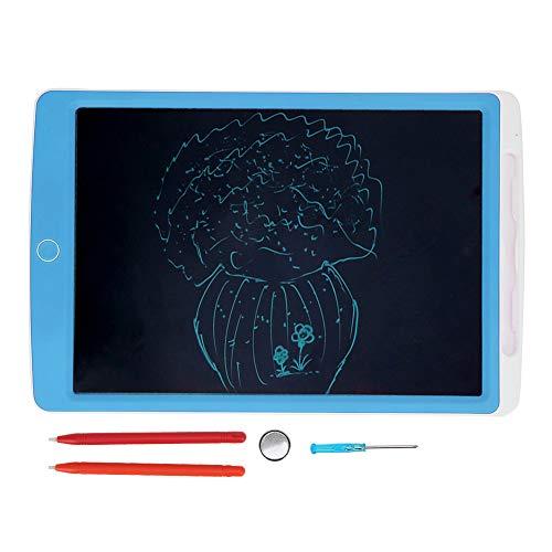 Sanpyl Tableta de Escritura LCD, sin Necesidad de Cargar ni enchufar la Almohadilla de Dibujo electrónica, no tóxica e inofensiva, Adecuada para Que Las Madres enseñen a los niños al jardín(Blue)